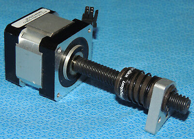 Lin Engineering 417-15-05D-02RO Stepper Motor & Haydon Lead Screw NEMA 17