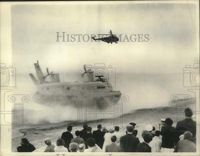 1966 Press Photo World's largest Hovercraft transformed into commercial duties