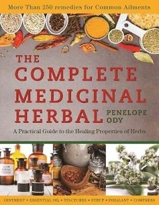 NEW The Complete Medicinal Herbal By Penelope Ody Paperback Free Shipping