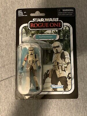 Star Wars Vintage Collection Rogue One Scarif Stormtrooper Case Fresh!! In Hand