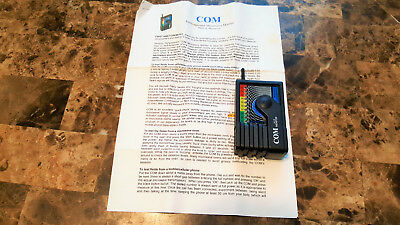COM environmental microwave monitor. With instructions included.