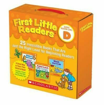 NEW First Little Readers Parent Pack: Guided Reading Level D By Liza Charleswort