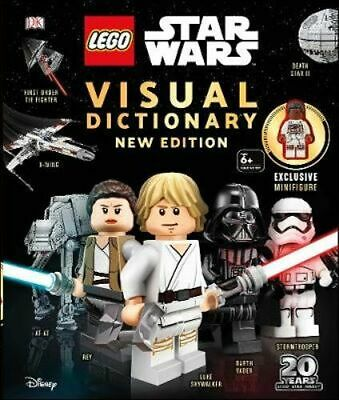 NEW LEGO Star Wars Visual Dictionary New Edition By DK Hardcover Free Shipping