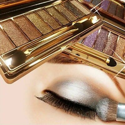 New Pro EyeShadow 6 colors Makeup Cosmetics Palette Shimmer Matte Eye shadow