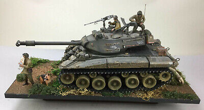 Imex Taigen RC Tank M41 USA Light Tank Walker Bulldog 1/16 scale -Custom Display