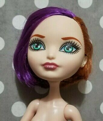Ever After High Doll Through The Woods Poppy O'hair Nude Only For Ooak Purple