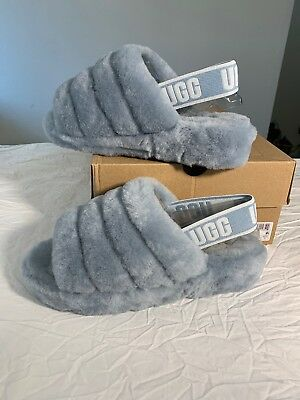 5644cff5e81 UGG FLUFF YEAH Slide Exclusive Slingback Shoes/ Slipper Sz 9 Women New  1095119