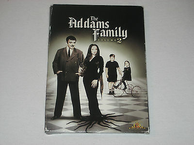 The Addams Family - Volume 2 (3 DVD, Dual Side) John Astin, Carolyn Jones OOP