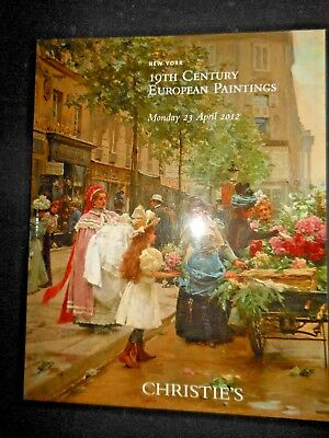 Christie's 19th Century European Paintings 2012 Auction Catalog NY Art Herring