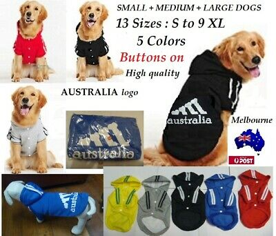 CHEAPEST Sport  Pet Jacket Dog Cat Cloths 5 Colors 12 sizes Hoodies Winter Coat