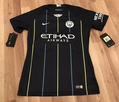 newest 29605 f5e06 NIKE MANCHESTER CITY Kevin De Bruyne 17/18 Long Sleeve ...