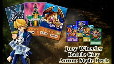 Yugioh Joey Wheeler OriCa Battle City Anime Style Deck