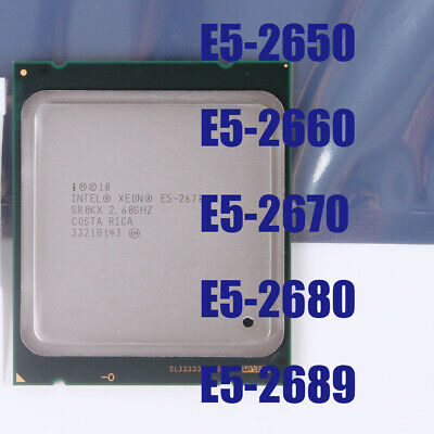 Intel Xeon E5-2650 E5-2660 E5-2670 E5-2689 E5-2680 LGA 2011 CPU Processor
