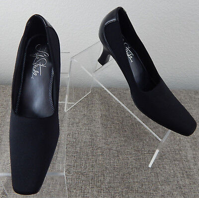 77caf750d57 Life Stride Womens Black Size 5.5M Kitten Heels Style Logan Square Toe  Cushioned