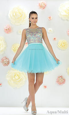 Sale ! Short Prom Attire Cocktail Homecoming Bridesmaid Party Dresses Under