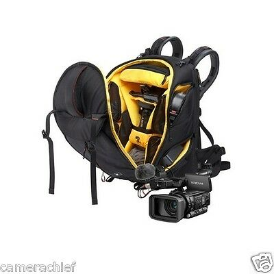 Sony VJBK-1TP100 Backpack Video Journalist Kit PMW-100 Camera Manfrotto 502AM