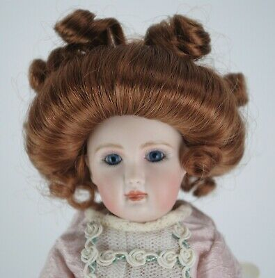 """Antique Jumeau French Doll 11"""" Reproduction Artist Made"""