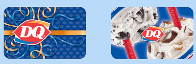 $15 / $30 Dairy Queen Physical Gift Card - FREE 1st Class Mail Delivery - Sealed