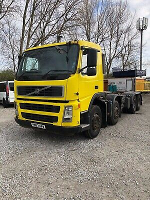 Volvo Fm 400 Cab Chassi 2007 8X4 Moted Dec 2019 Camera & Weigher System Auto Box