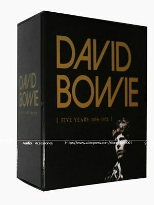 2018 Music CD Rushed Hot Sell David Bowie Five Years1969--1973 12CD