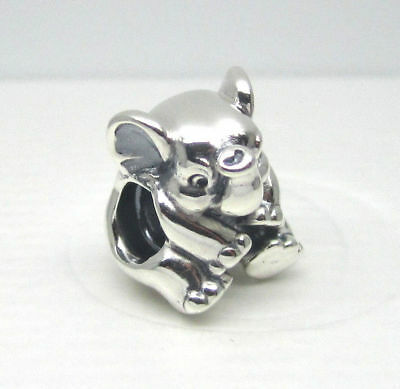 Authentic Pandora Lucky Elephant 791902 Charm Bead