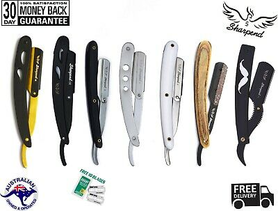 Sharpend BARBER SALON STRAIGHT CUT THROAT SHAVING RAZOR SHAVETTE RASOIRS MESSERS