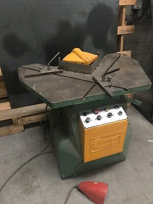 Comaca Corner Shear Guillotine Notcher 220Mm X 4Mm. Metal Worker. Only £1650.00