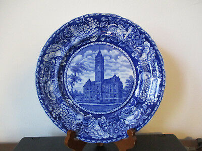 Circa 1905 Souvenir Rowland Marsellus Plate City Hall Lowell Massachusetts *