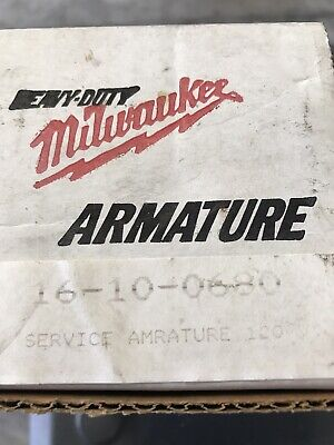 New Milwaukee Armature for Hammer/Driver Drills & Screwdrivers/Part # 16-10-0680