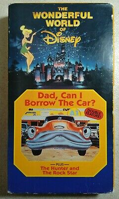 Wonderful World Of Disney: Dad, Can I Borrow the Car? Double Feature VHS