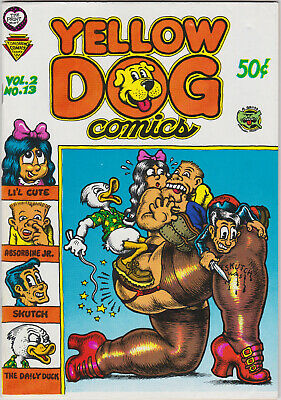 YELLOW DOG COMICS Vol. 2 No 13 1969 THE PRINT MINT