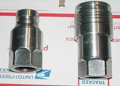 """Dixon HT8BF8-SS & 8HTBF8-SS 1"""" Male/Female Quick Connect Hydraulic Coupling NEW"""