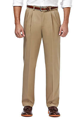 7fd8c7d24 Haggar Men s Big   Tall Size 48Wx32L Premium No Iron Khaki Pants Classic Fit