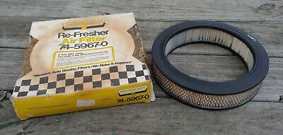 Vintage NOS NIB WESTERN AUTO Model 74-5967-0 AIR FILTER for 1971-73 Ford PINTO