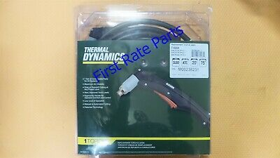 Thermal Dynamics 7-5204 Plasma Torch SL60 ATC 20ft Cutmaster 42 52 82 Leads New