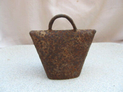 Antique Cowbell Old Rusty Metal Cow Bell Metal Farm Bell Cattle Bell Copper Bell