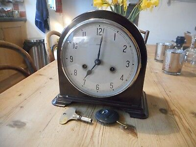 Antique bakelite mantel clock,Enfield.