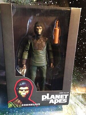 Neca Planet Of The Apes Cornelius Action Figure Rare