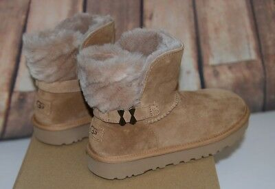 bc291764f43 UGG ADRIA SOFT Suede and Sheepskin Wool Lining Winter Women's Stormy ...