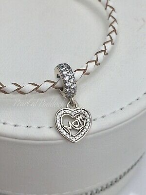 46585feafb8 Authentic Pandora Mom Center Of My Heart Charm Mothers Day Birthday Gift  Pouch