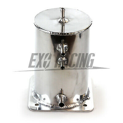 Exoracing Fuel Swirl Pot Alloy 1.5ltr Fuel Surge Tank Motorsport Race Drift Rall