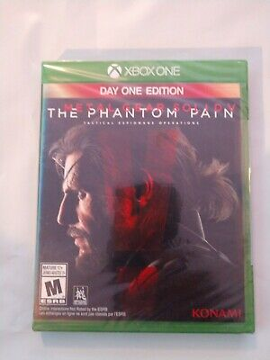 Metal Gear Solid V 5 : The Phantom Pain -- Day One Edition (Microsoft Xbox One)