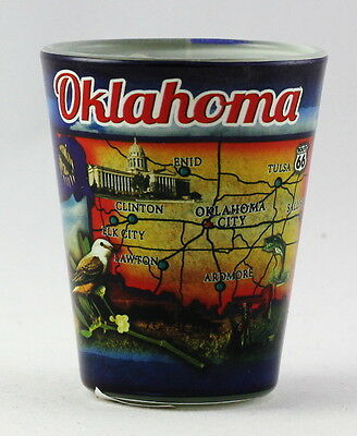 Oklahoma State Collage Shot Glass Rtp