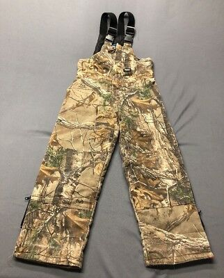 af93402710b71 WALLS KIDZ GROW System Boys Camo Insulated Coveralls Youth Size X ...