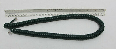 New Telephone Handset Cord - 12' Hunter Green Modular