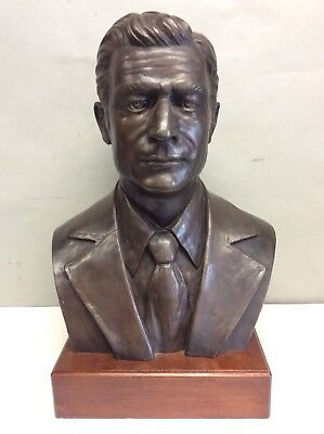 "Signed Bronze Bust by Nedo Cassettani 21.75"" Tall"