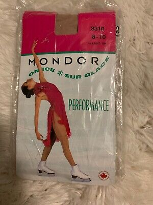 a231daa4c49b5 BROWN MONDOR 3310 Mondor 3350 Mondor 3337 Figure Skating Tights ...