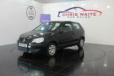 2007 Volkswagen Polo Hatch 3Dr 1.2 6V 60 E Petrol black Manual