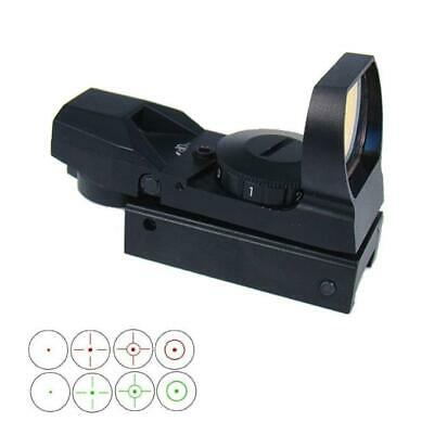 Tactical Holographic Red and Green Reflex Sight with 4 Reticles Military