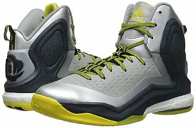 timeless design eae67 5b1c2 New Mens adidas D Rose 5 Boost Basketball Shoes Size 12